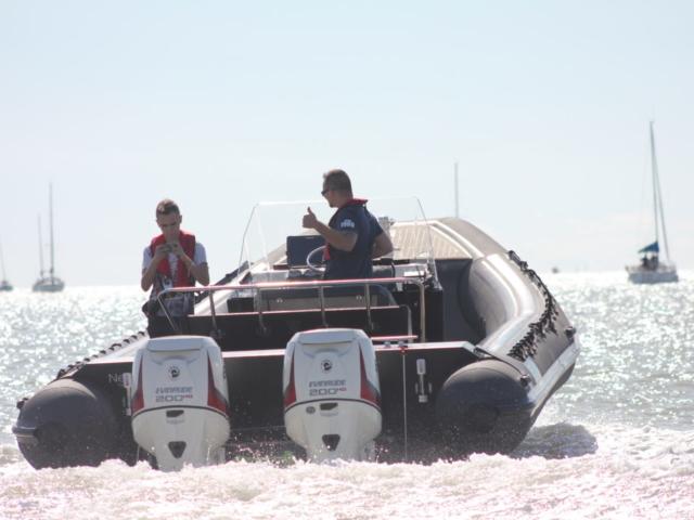 Moteur Evinrude des bateaux Nethuns gamme Net Master 770
